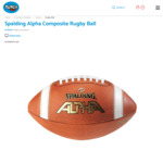 Spalding Alpha Gridiron Ball, $18 (was $44.99. Pick up Auckland or $5 Shipped) @ Toyco