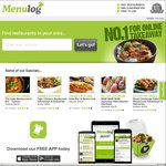 $10 off Delivery Orders from Menulog. New Customers Only