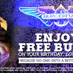 Free Burger on Your Birthday @ Burger Fuel