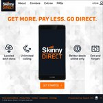 Skinny Direct- Mobile 3GB for $30 or 6GB for $50