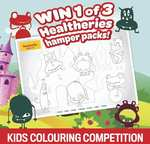 Win 1 of 3 Healtheries Hampers from Kidspot