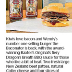 Win 1 of 3 Wendy's Prize Packs from The Dominion Post