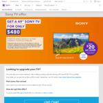 "Sony 49"" Ultra HD 4K TV KD-49X7500F $480 @ Spark"