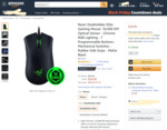 Razer DeathAdder Elite Gaming Mouse $59.54 NZD Delivered ($36.78 USD)  @ Amazon