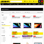 Cost + GST on Apple Mac  @ JB Hi-Fi