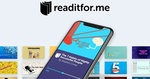 Free - 12 Months Subscription to Readitfor.me (Was $110) @ Appsumo