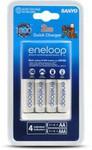 Eneloop Quick Battery Charger $26.92, 8pk Eneloop AA/AAA Rechargeable Batteries $23 @ Dick Smith