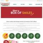 Buy 1 Dozen Donuts and Get 1 Dozen Glazed Free at Krispy Kreme