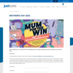 Win 1 of 3 $500 GiftPay Cards @ Just Cuts
