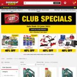 40% off Castrol Oil @ SuperCheap Auto (Membership required)