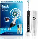 Oral-B Pro 2 2000 Black Electric Toothbrush + Travel Case ~AU$59 (~AU$66.48 Delivered) @ Amazon AU