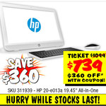 $739 HP All-in-One PC @ JB Hi-Fi ($360 off with Coupon)
