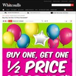 Buy One Get One Half Price Store Wide @ Whitcoulls