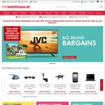 20% off JVC and Veon TVs @ The Warehouse [in-Store Only]
