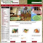 $35 off (minimum spend $70) at organicboxes.co.nz