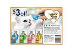 $3 Coupon for Fancy Feast Puree Kiss (Cat Food)