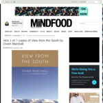Win 1 of 7 Copies of View from The South by Owen Marshall from Mindfood