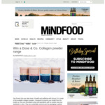 Win a Dose & Co. Collagen Creamer (Worth $220) from Mindfood