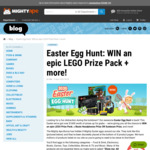 Win LEGO, Appliances, Headphones + More @ Mighty Ape