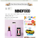 Win 1 of 5 Dog Shampoo and Conditioning Mask Packs from Mindfood