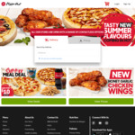Two-For-One Deluxe Pizzas @ Pizza Hut
