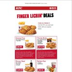 Gimme Five: 5 Pieces Original Recipe + Regular Chips $9.90 @ KFC