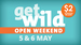$2 Entry (Normally $24) to Wellington Zoo and Zealandia this Weekend (May 5 & 6)