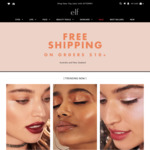 Free Shipping on Orders AUD $10, Free Eyeshadow Palette with AUD$40+ Purchase, Sale Items from $2 @ e.l.f. Cosmetics
