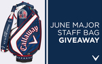 Win a Limited Edition Major Staff Bag Worth $999.99 from Callaway Golf