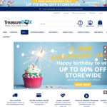 $10 off + up to 60% off Storewide (e.g Greenhouse 3.6m X 2.4m for $829) @ Treasure Box