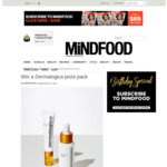Win a Dermalogica Prize Pack (Worth $298) from Mindfood