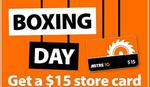$15 Store Card for Every $100 Spent on Boxing Day in-Store&Online @ Mitre10