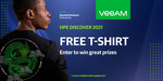 Free HPE Veeam T-Shirt Delivered (Company Email Required) @ Veeam