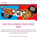 Win The Ultimate Pizza Prize Pack (5 to be Won) with Bakers Delight