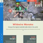 15% off All Climbs @ Wildwire Wanaka