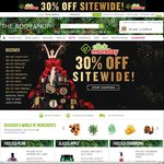 The Body Shop - Click Monday 30% Off Site-Wide + $7.50 Shipping Fee or Free for Orders > $100