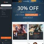 30% off Storewide @ Origin