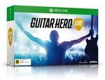 Xbox One/360 Guitar Hero Live (Includes Guitar Controller) $45 @ The Warehouse