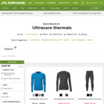 ultraCORE Thermal Tops/Long Johns $25 Each @ Kathmandu