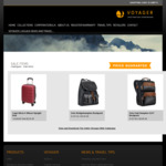 40% Off Selected Voyager Backpacks and Rolling Case @ Voyager