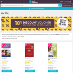 Additional 10% off Coupon - Selected Titles at Book Depository