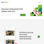 $15 off 1st Order @ Uber Eats