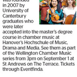 Win a Double Pass to The Lazarus String Quartet from The Dominion Post (Wellington)