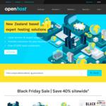 40% off Domains, Hosting, Servers, Acronis, Sitelock @ Openhose