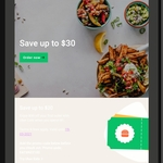 UberEATS First Time Users - $20 off $1 Spend