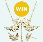 Win One Pair of Harmony Necklace and Earrings (Worth $468) from Good Magazine