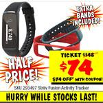 Striiv Fusion Activity Tracker $74 (save $74) @ JB Hi-Fi