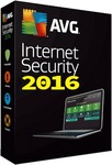 AVG Internet Security 2016 (374 Days Trial License Free)