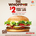$2 Whoppers @ Burger King - Dec 11th, 11am-5pm (Limit 2 per Person per Purchase)
