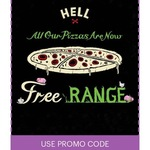 Sky Perks - Free Double Pizza (Worth up to $18.50) When You Spend $25 or More Online @Hell Pizza